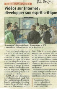 19-02-2021 Education à l'image au collège de Kédange-sur-Canner