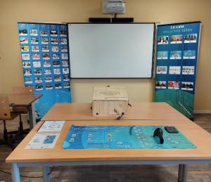 Exemple d'installation en milieu scolaire